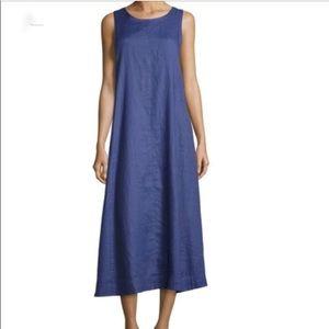 EILEEN FISHER silk maxi dress